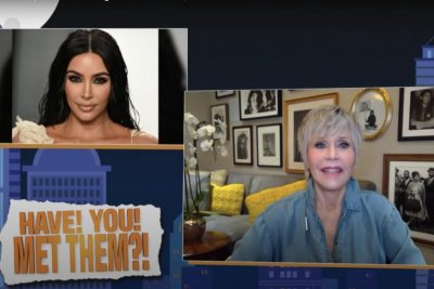 Jane Fonda recalls run-in with Kim Kardashian and her 'amazing behind'