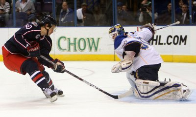 NHL: Columbus 5, Minnesota 4 (OT)