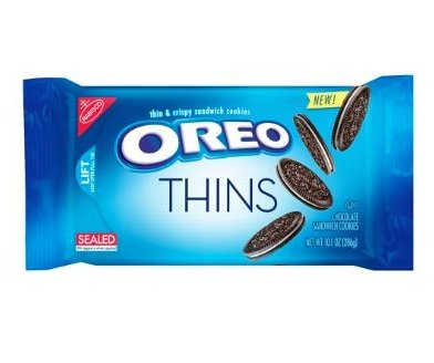 A new, thinner Oreo cookie is set to hit shelves