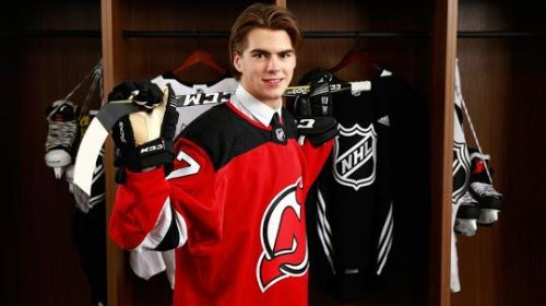 New Jersey Devils sign top overall pick Nico Hischier to entry-level deal