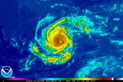 'Tiny' Hurricane Lee rebounds in Atlantic after 10 days
