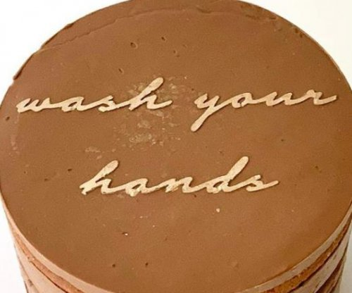 Bakery's 'Quarantine Cakes' say 'wash your hands,' 'don't touch your face'