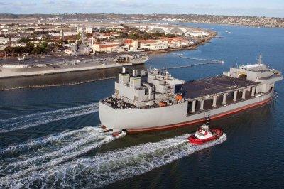 USS Hershel 'Woody' Williams swaps crews in Spain