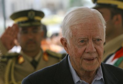 Carter's meeting draws criticism