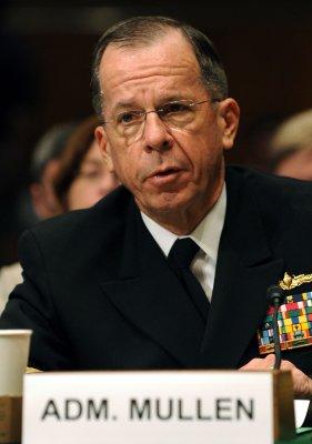 Mullen expresses concerns about militants