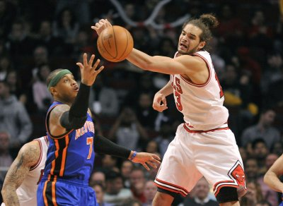Report: Joakim Noah tried to sell Carmelo Anthony on joining the Chicago Bulls