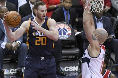 Gordon Hayward, Rudy Gobert, George Hill power Utah Jazz past Washington Wizards