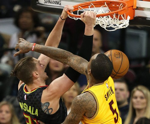 Atlanta Hawks shock Cleveland Cavaliers second straight time