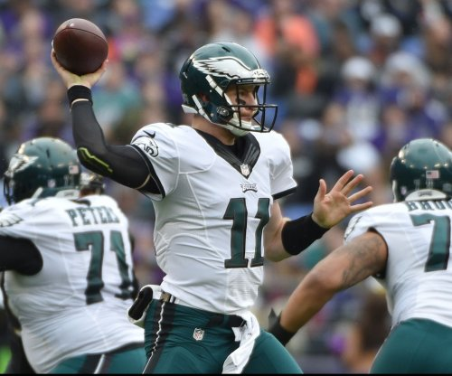 Philadelphia Eagles ride Carson Wentz to win over Miami Dolphins