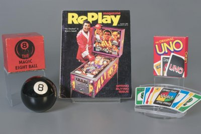 Toy Hall of Fame inducts Uno, Magic 8 Ball and pinball