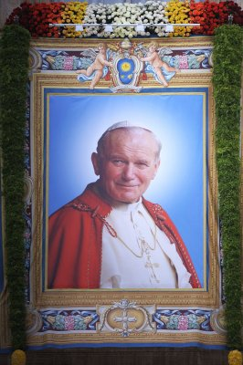 Poland celebrates, with Vatican, canonization of favorite son
