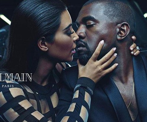Kim Kardashian, Kanye West star in new ad for Balmain