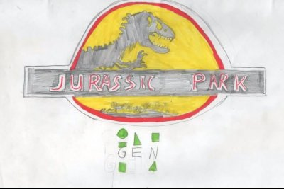 Kid's 50-page 'Jurassic Park' dossier may be more thorough than actual movie