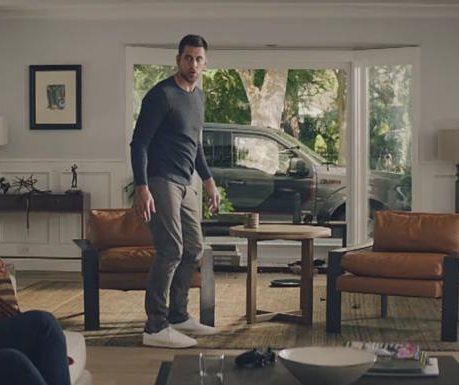 Aaron Rodgers hunts house fly in 'pep talk' State Farm commercial
