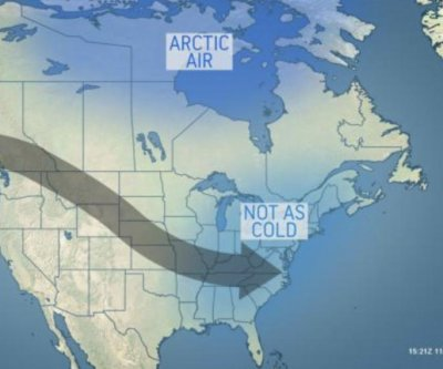 Harsh cold to ease over central, eastern U.S. during 3rd week of November