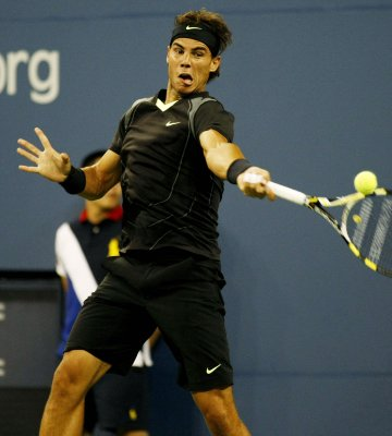 Nadal tops quarterfinal field at U.S. Open