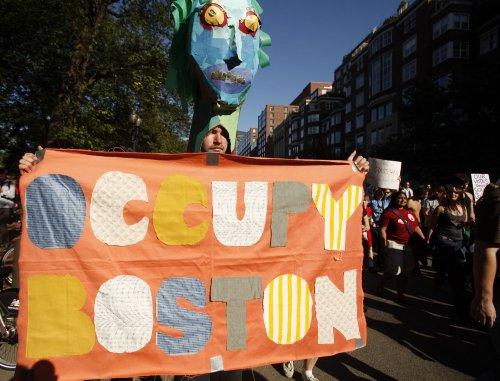 Occupy arrests in Boston, Washington