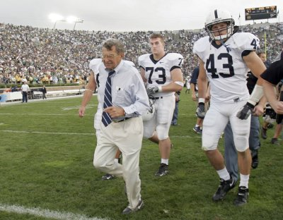Report: Paterno will lose coaching job