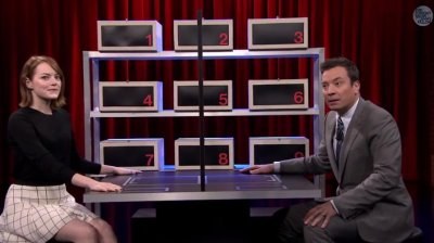 WATCH: Emma Stone, Jimmy Fallon play 'Box of Lies'