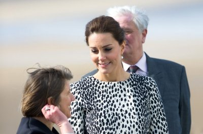 Duchess of Cambridge visits the set of 'Downton Abbey'