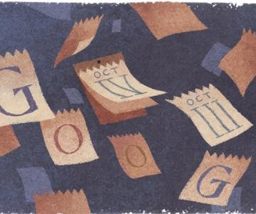 Google highlights the 434th anniversary of the Gregorian calendar with new Doodle