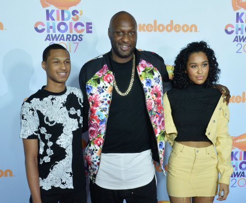 Lamar Odom brings his children to Kids' Choice Awards: 'I'm doing great'