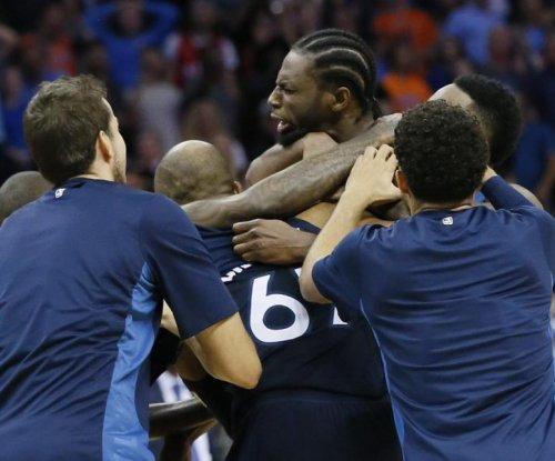 Andrew Wiggins, Minnesota Timberwolves steal Carmelo Anthony's Thunder with buzzer-beater