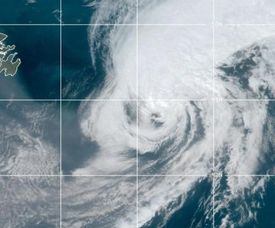 Paulette downgraded to post-tropical cyclone for a second time