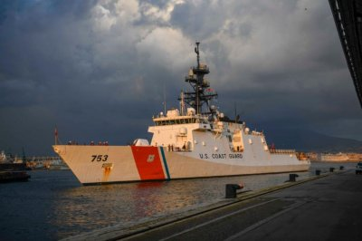 U.S. Coast Guard cutter participates in exercises with Italy's coast guard, navy