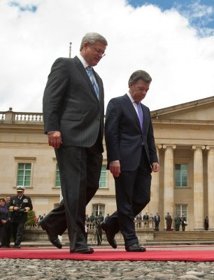 Canada, Colombia free trade deal a go