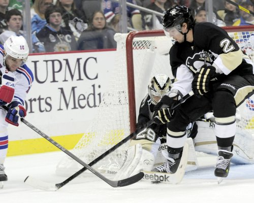 NHL: Pittsburgh 3, New York Rangers 0