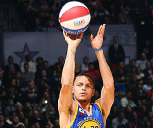 Stephen Curry wins Three-Point Contest
