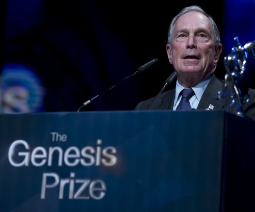 Michael Bloomberg assails Sanders, Trump as demagogue