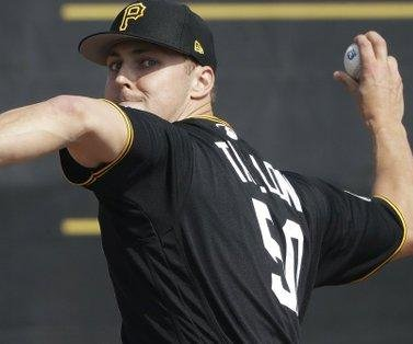 Weeks after cancer surgery, Pittsburgh Pirates' Jameson Taillon to start