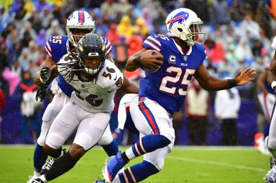 Buffalo Bills' LeSean McCoy endures tough day vs. New England Patriots