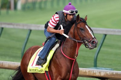 Kentucky Derby field shrinks to 19, wet track forecast
