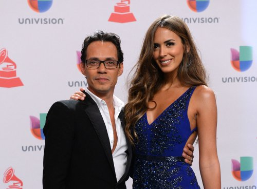 Marc Anthony, Shannon De Lima debut as newlyweds