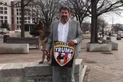 Bikers for Trump prepared to form 'wall of meat' at Trump inauguration rally