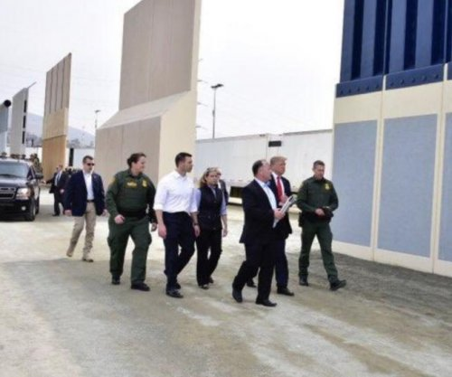 Trump prefers 'see-through' wall, views prototypes in California