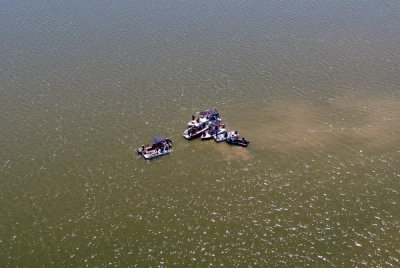 Human remains, debris pulled from Percy Priest Lake following plane crash