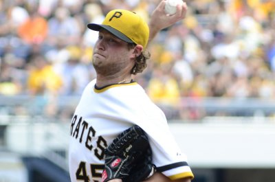 Pittsburgh Pirates' Gerrit Cole gets 14th victory