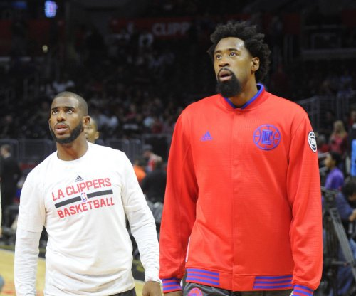 Los Angeles Clippers' DeAndre Jordan sits, consecutive games streak ends
