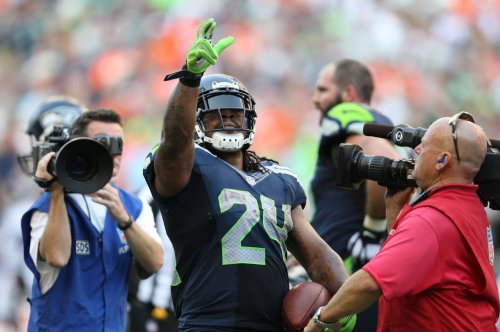 Marshawn Lynch says thank you to Seattle Seahawks fans in heartwarming, full-page ad