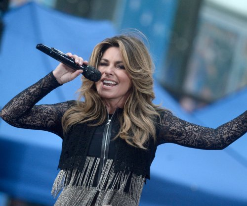 Shania Twain announces 'Now' tour for 2018