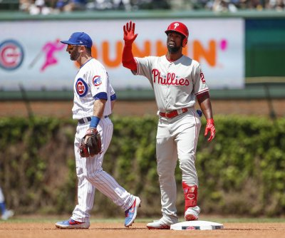 Philadelphia Phillies' Andrew McCutchen out for opening day