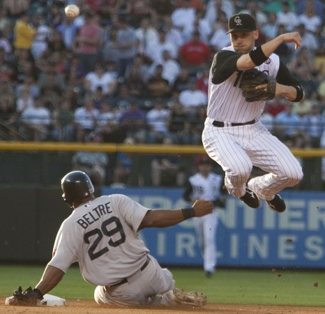 MLB: Colorado 2, Boston 1