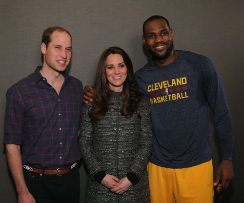 Prince William, Duchess Kate Middleton watch Cavs beat Nets