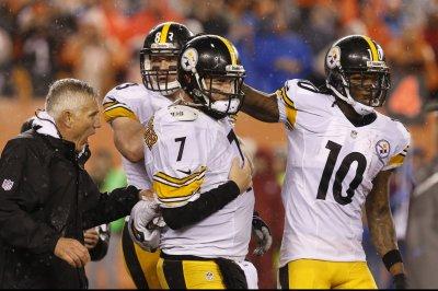 Big Ben Roethlisberger tops Pittsburgh Steelers' injury list