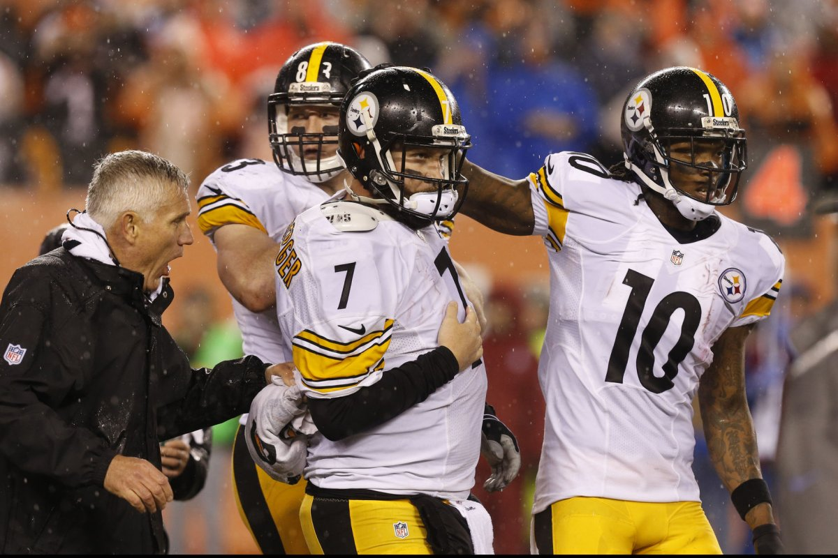 Big Ben Roethlisberger tops Pittsburgh Steelers' injury list - UPI.com