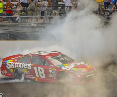 Kyle Busch makes winning at Indianapolis Motor Speedway look easy